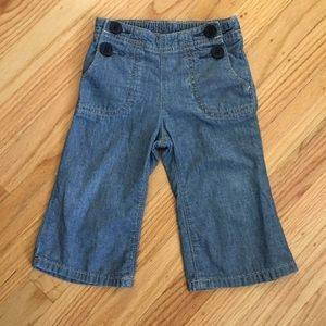 Adorable Baby Gap Jeans, 12-18 Months